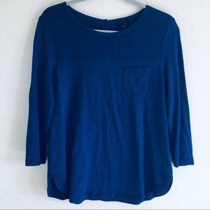 Talbots Navy Knit Sweater